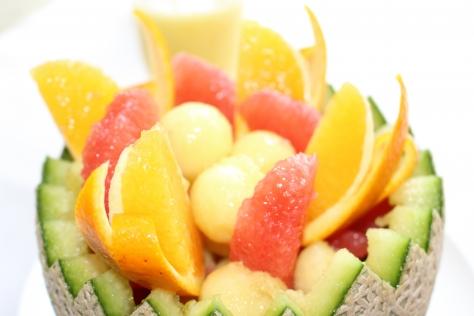 メロン&グレープフルーツ&オレンジ