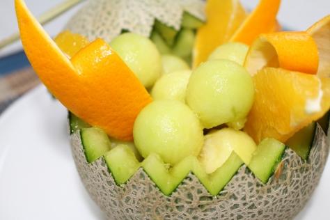メロン&オレンジ
