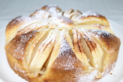 りんごのパンケーキ2