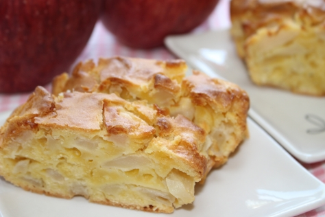りんごのパウンドケーキ (2)