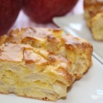 りんごのパウンドケーキ(パウンドケーキ型1個分) 甘さ控えめで優しい味のりんごケーキ。