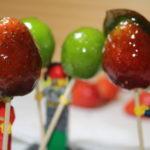 緑の食用色素を使って「イチゴあめ&シャインマスカットあめ」を作ってみた!(失敗)